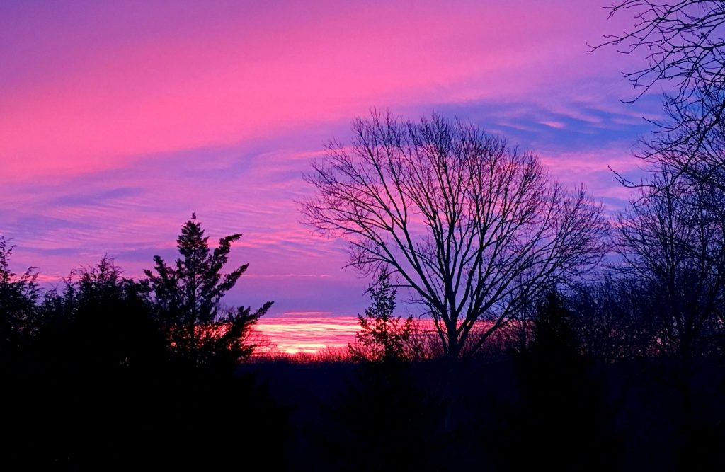 Winter Sunrise in New England (Photo: Alan Seale)