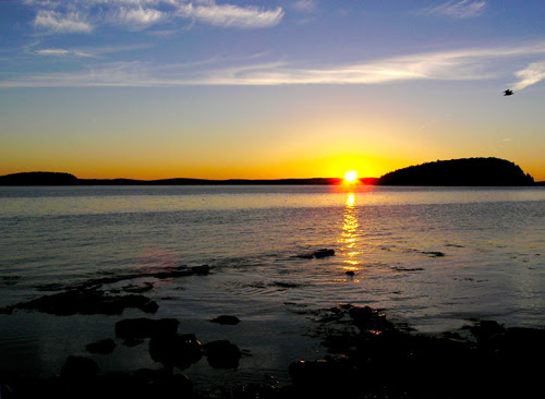 Sunrise Over Bar Harbor, Maine, USA (Photo: Alan Seale)