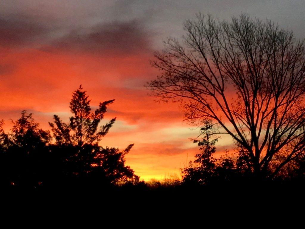 Sleepy Hollow Fiery Sunrise