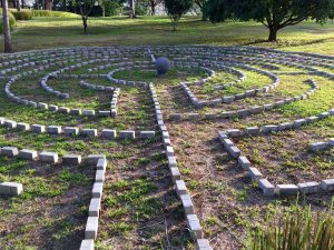 The labyrinth at Kantara, home of Transformational Presence in Costa Rica