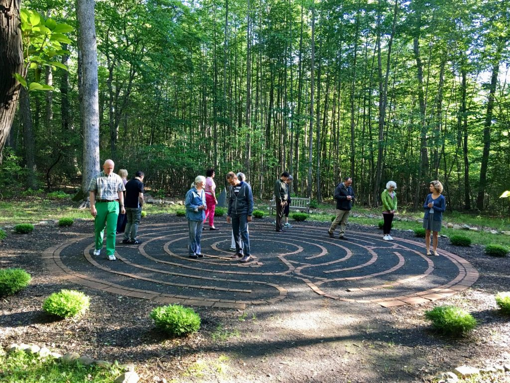 Transformational Presence: Shift Happens - 2017 Gathering early morning labyrinth walk