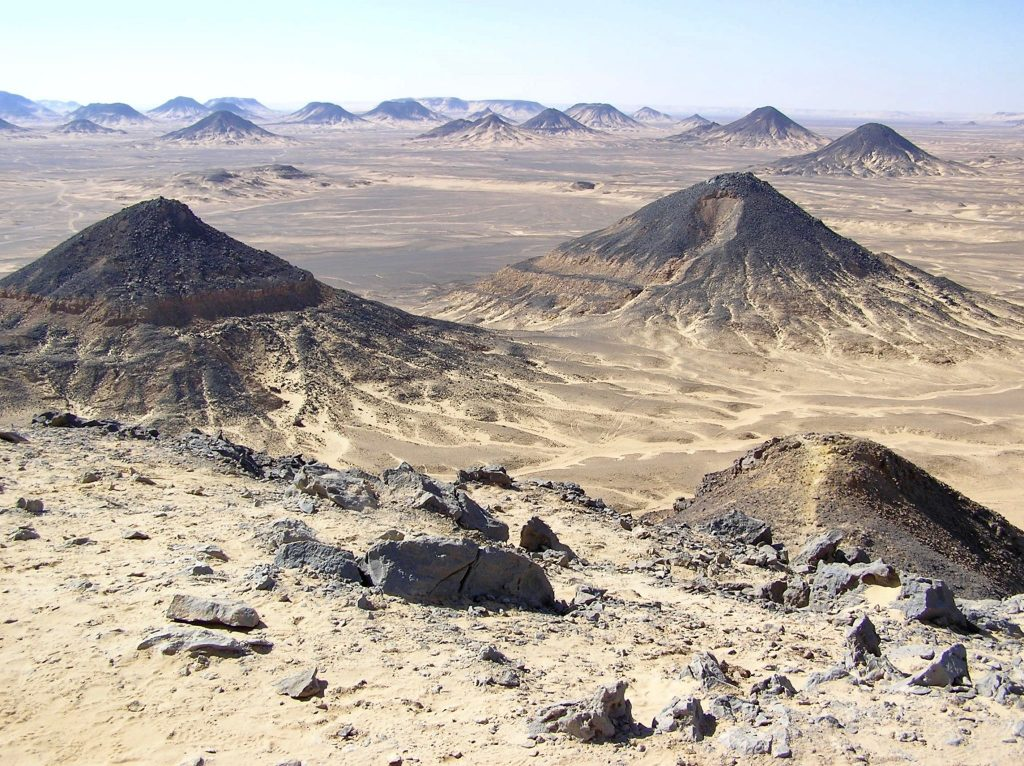 The Black Desert in the Western Desert of Egypt (Photo: Alan Seale)
