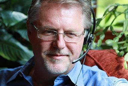 Alan teaching online
