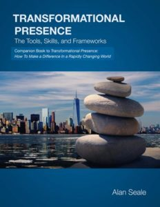 Book Cover - Transformational Presence: The Tools, Skills, and Frameworks