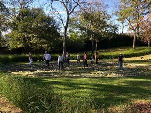 Walking the Labyrinth at Kantara
