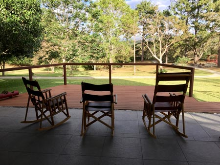 Rancho rocking chairs at Kantara