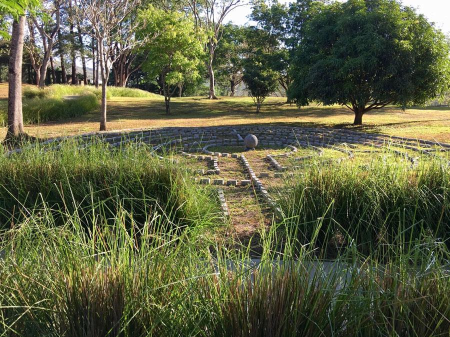 The labyrinth at Kantara